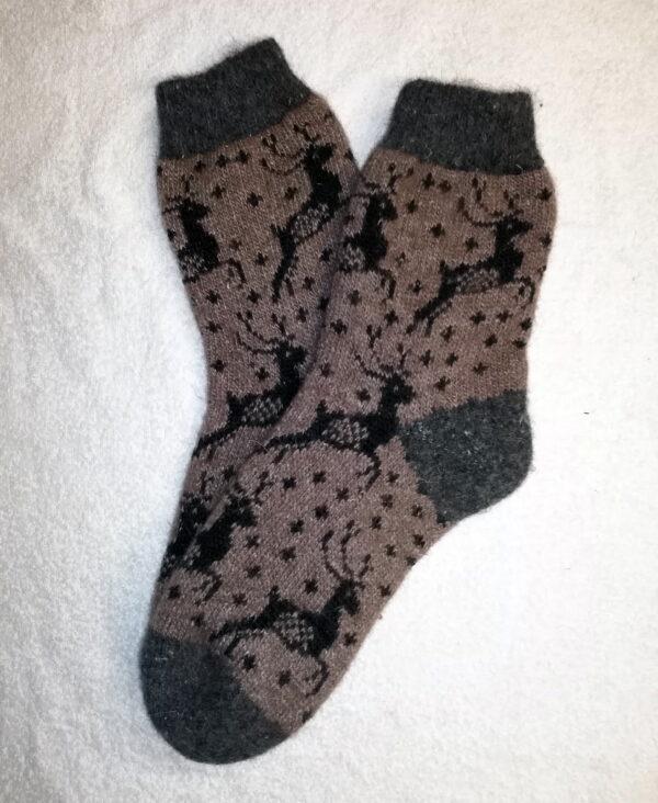 Подростковые шерстяные носки. Модель P-33