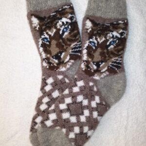 Женские шерстяные носки. Модель J-63