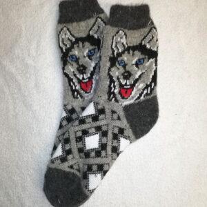 Женские шерстяные носки. Модель J-67