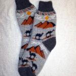 Женские шерстяные носки. Модель J-71