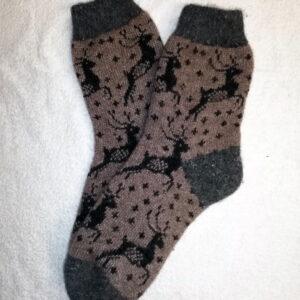Женские шерстяные носки. Модель J-73