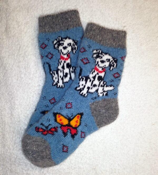 Женские шерстяные носки. Модель J-75