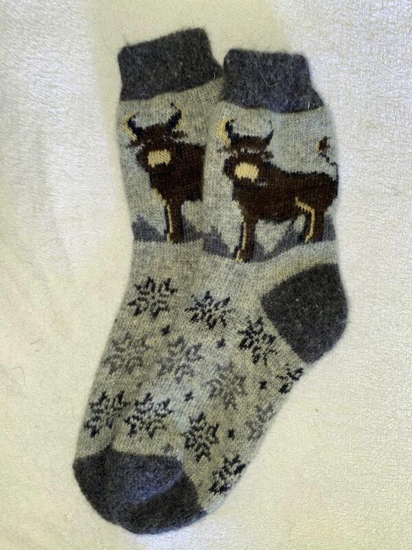 Мужские шерстяные носки. Модель M-36
