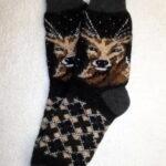 Мужские шерстяные носки. Модель M-41