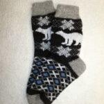 Мужские шерстяные носки. Модель M-44