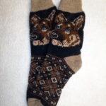 Мужские шерстяные носки. Модель M-45