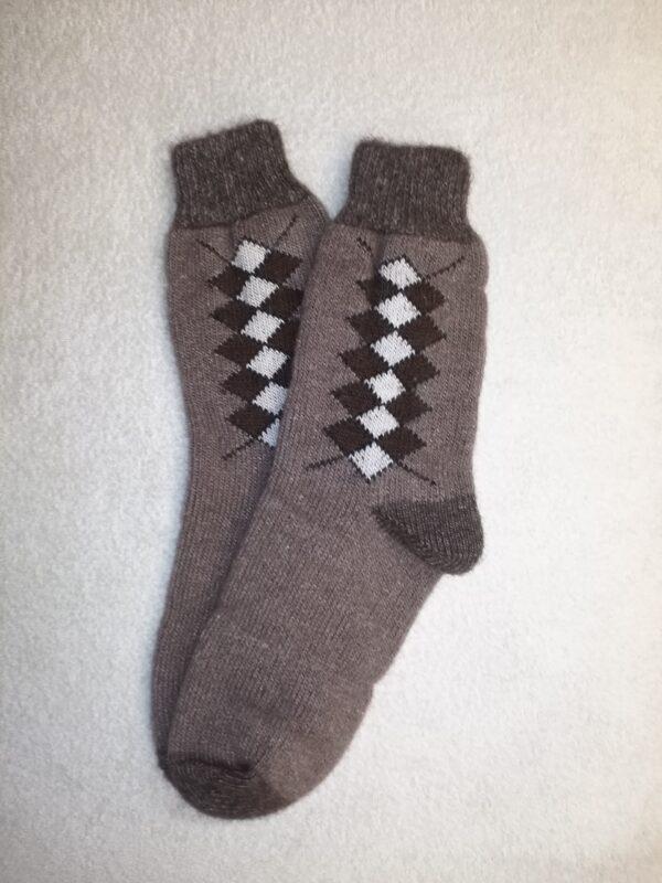 Мужские шерстяные носки. Модель M-46