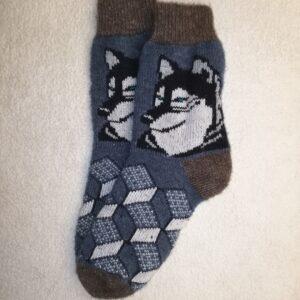 Мужские шерстяные носки. Модель M-52