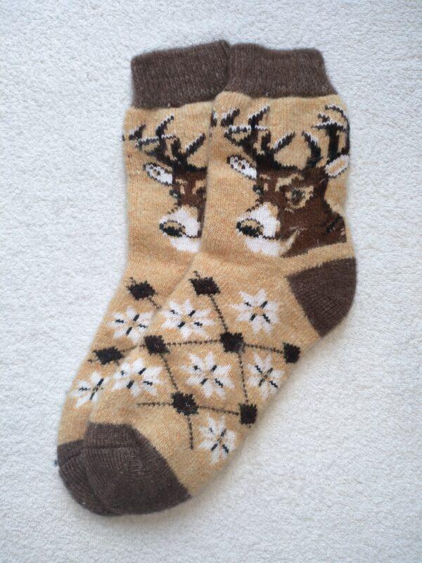 Мужские шерстяные носки. Модель M-73