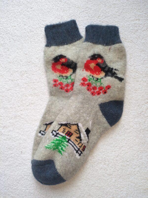 Женские шерстяные носки. Модель J-101