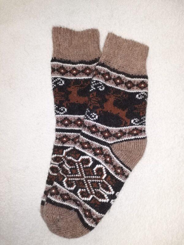 Женские шерстяные носки. Модель J-93