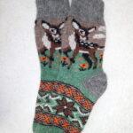 Женские шерстяные носки. Модель J-96