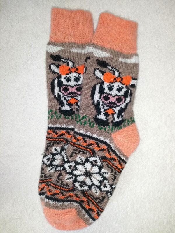 Женские шерстяные носки. Модель J-97