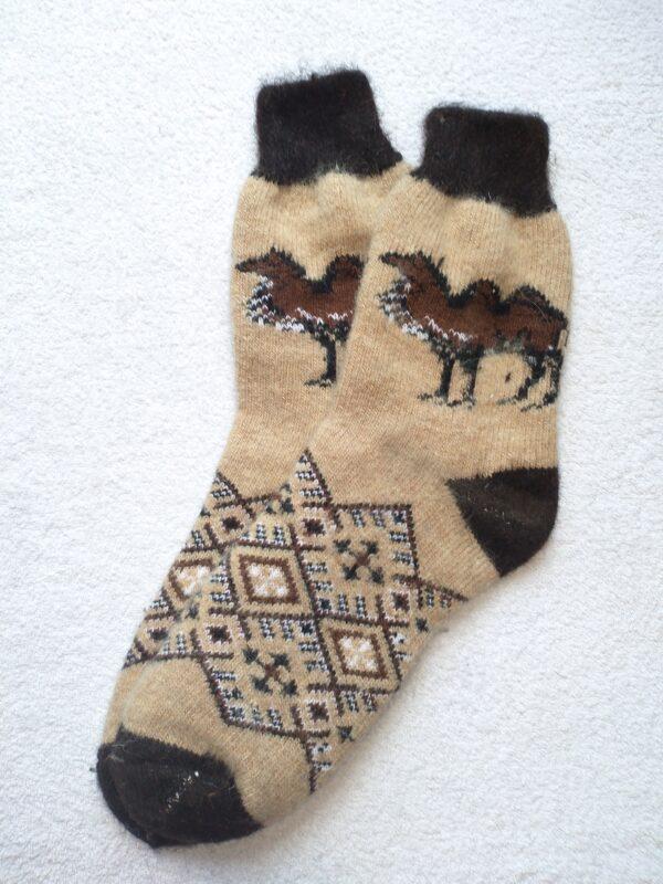 Женские шерстяные носки. Модель J-98