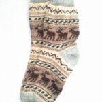 Женские шерстяные носки. Модель J-107