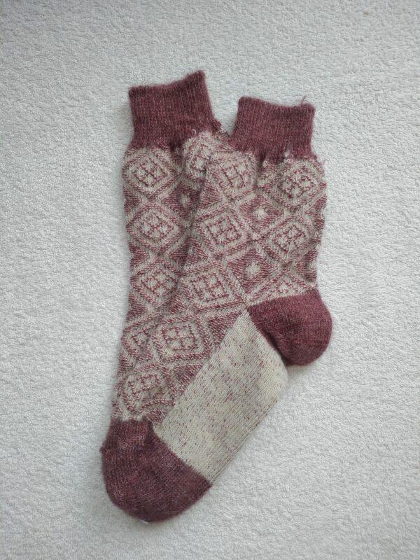 Женские шерстяные носки. Модель J-108 серии Аврора