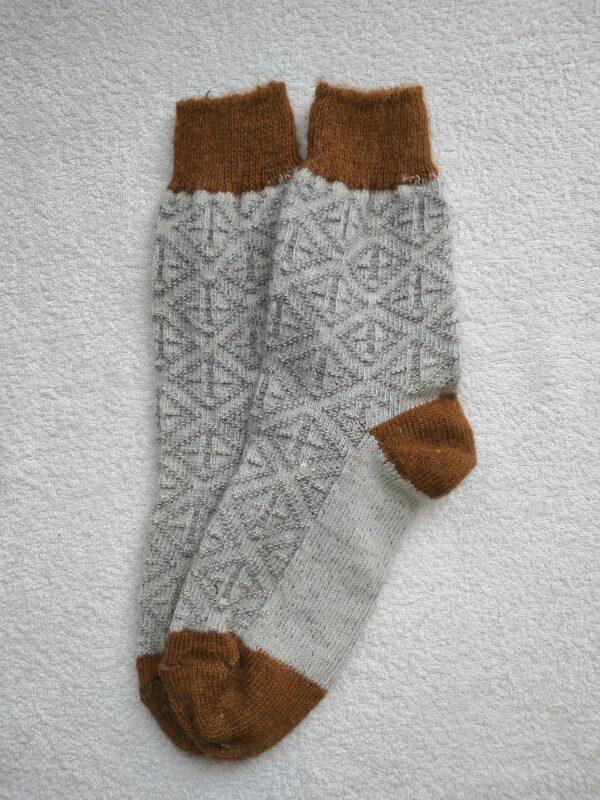Женские шерстяные носки. Модель J-110 серии Аврора