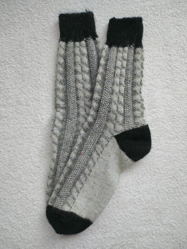 Женские шерстяные носки. Модель J-111 серии Аврора