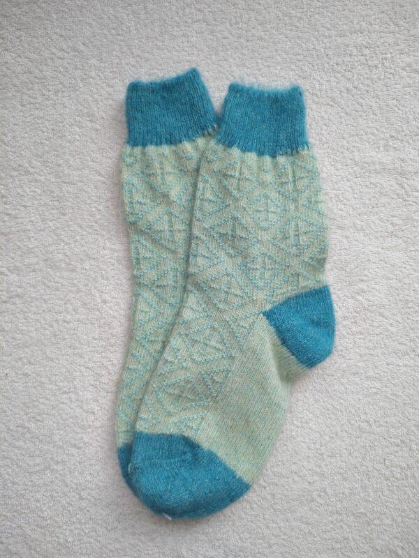 Женские шерстяные носки. Модель J-115 серии Аврора