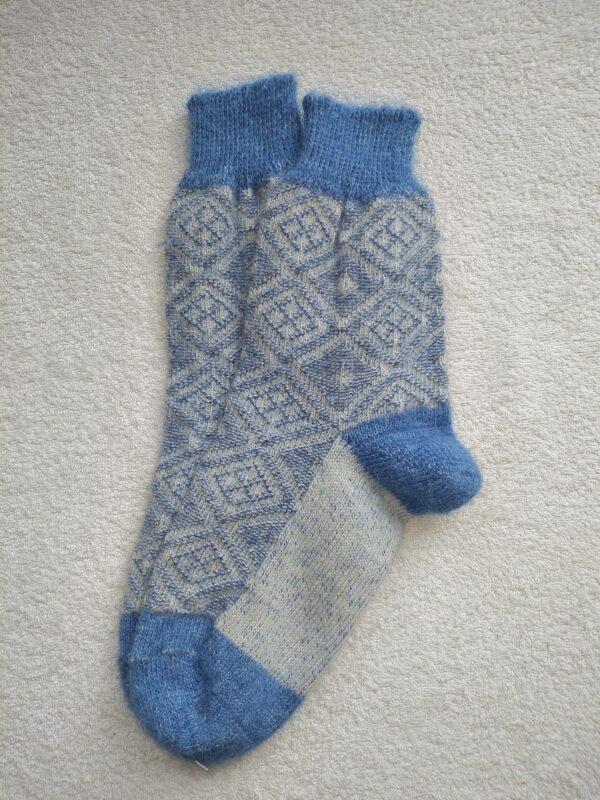 Женские шерстяные носки. Модель J-116 серии Аврора