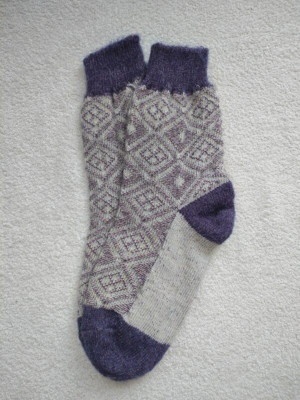 Женские шерстяные носки. Модель J-117 серии Аврора