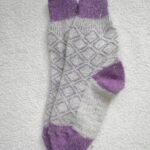 Женские шерстяные носки. Модель J-119 серии Аврора